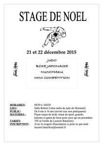 Stage de noel 2015-1
